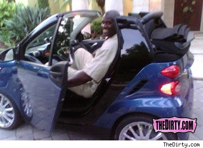Shaq actually bought a Smart