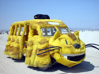 yellow cat car