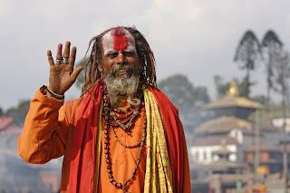 Sadhus or Hindu holymen