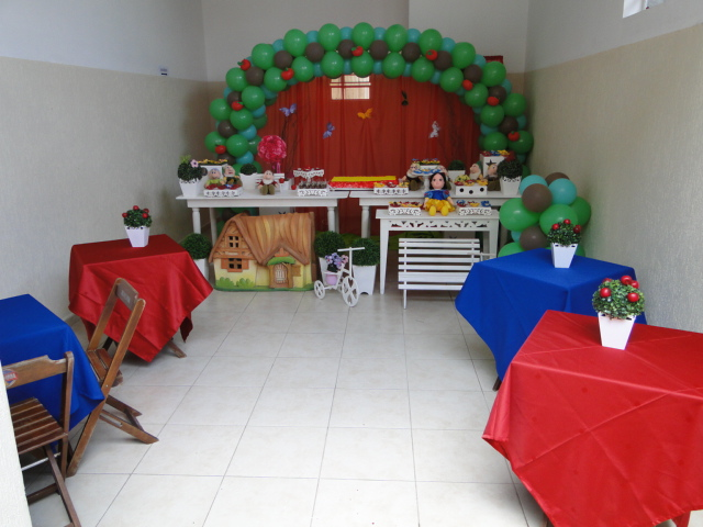 decoracao mesa branca:Victoria Decoração Infantil : mesa Tematica – Branca de Neve