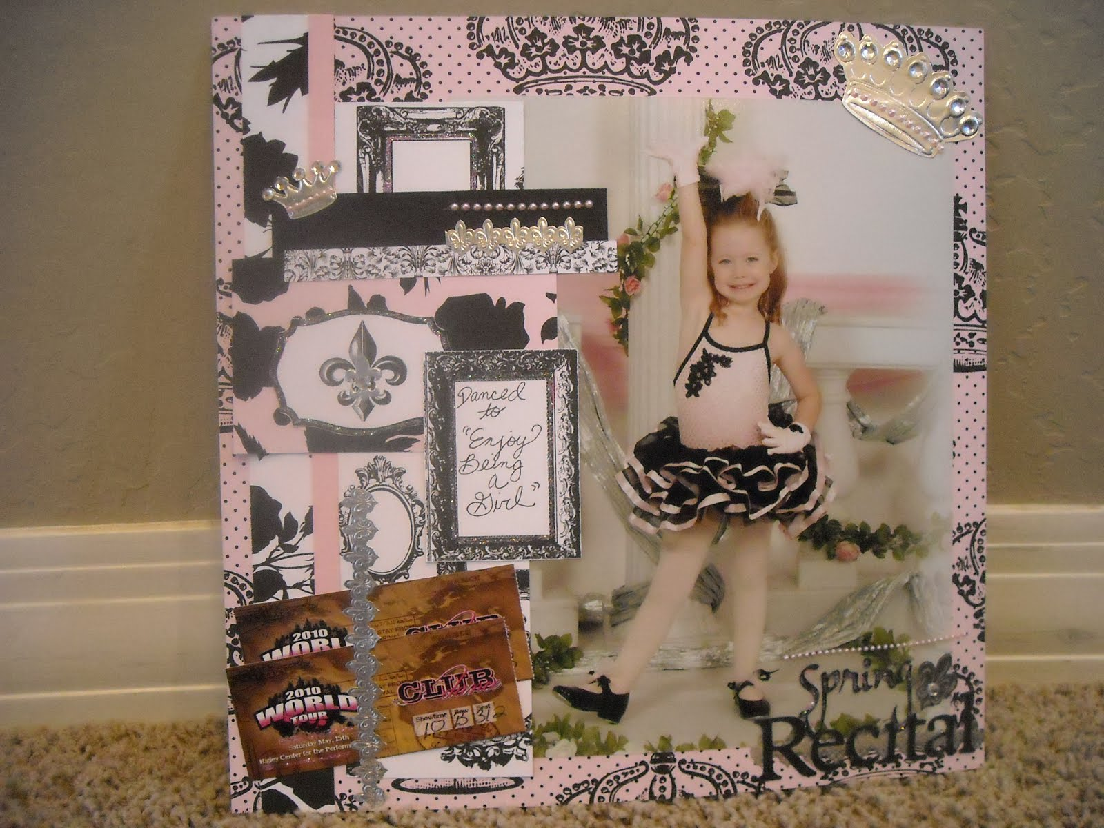 Extreme Domestication: Scrapbook Pages