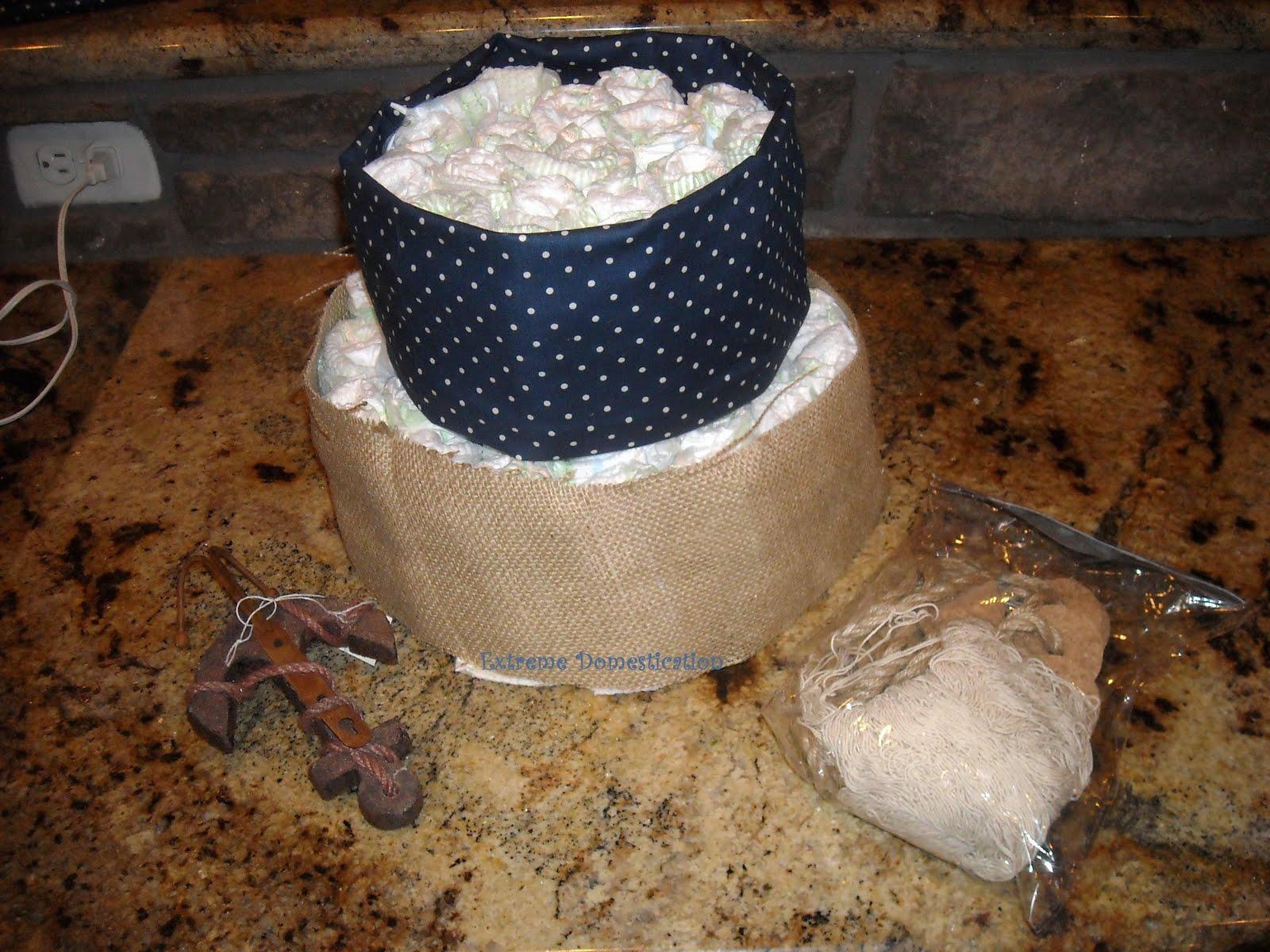 Nautical Diaper Cake Toppers