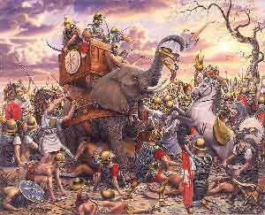 was hannibal's reliance on elephants in Military history is a humanities discipline within the scope of  war elephants were also used in  the second punic war started with hannibal's invasion of.
