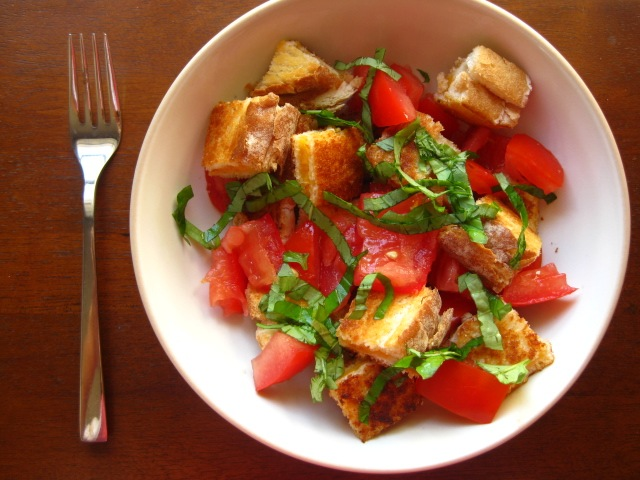For the Love of Cooking!: Salad Croutons with Italian dressing