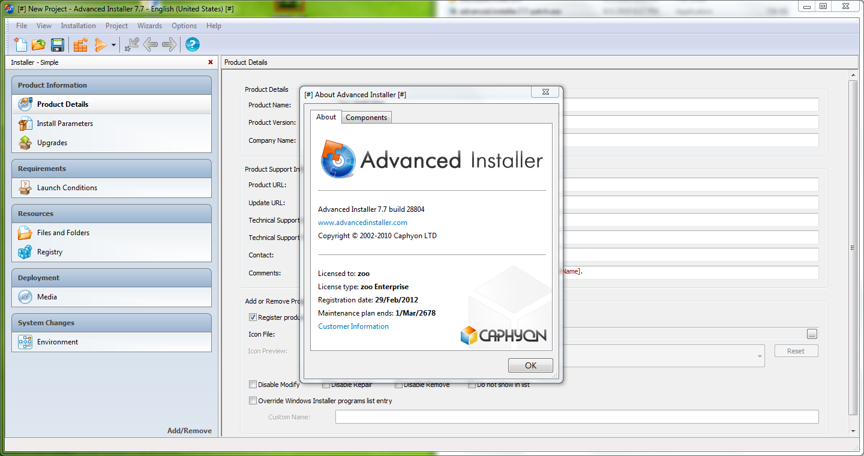 Membuat MSI Windows - Advanced Installer Enterprise 7.7