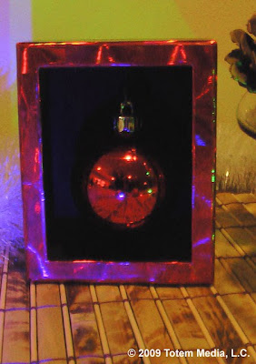 Christmas Ornament Shadow Box - (c) 2009 Totem Media, L.C.
