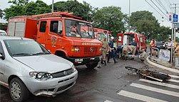 acidente campo grande Acidente em Campo Grande MS