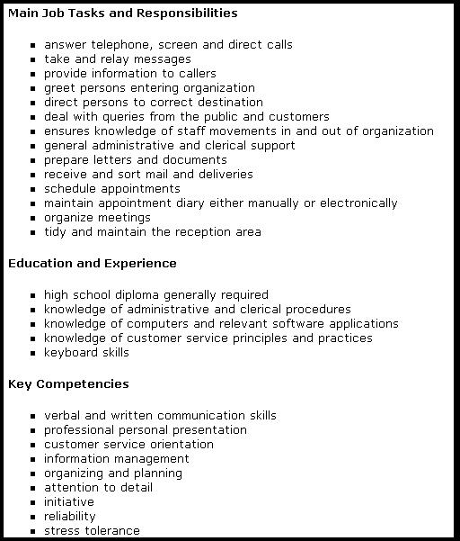 Computer Support Computer Support Personnel Job Description