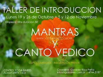 MANTRAS Y CANTO VEDICO