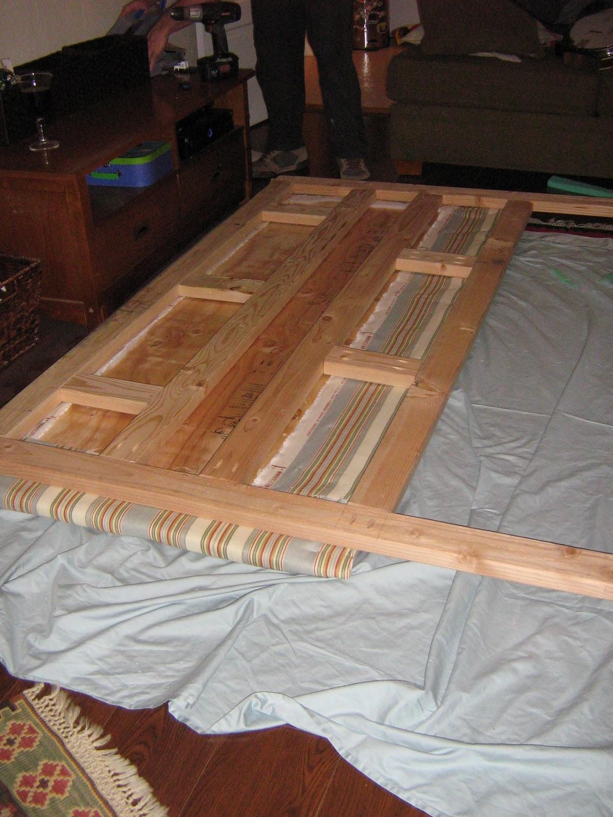 Upholster Bed Frame Queen