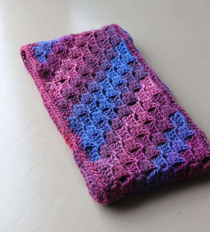 Yarn Tails Diagonal Crazy Scarf
