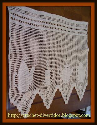 Crochet divertido1 cenefa de cocina - Cenefas de crochet ...