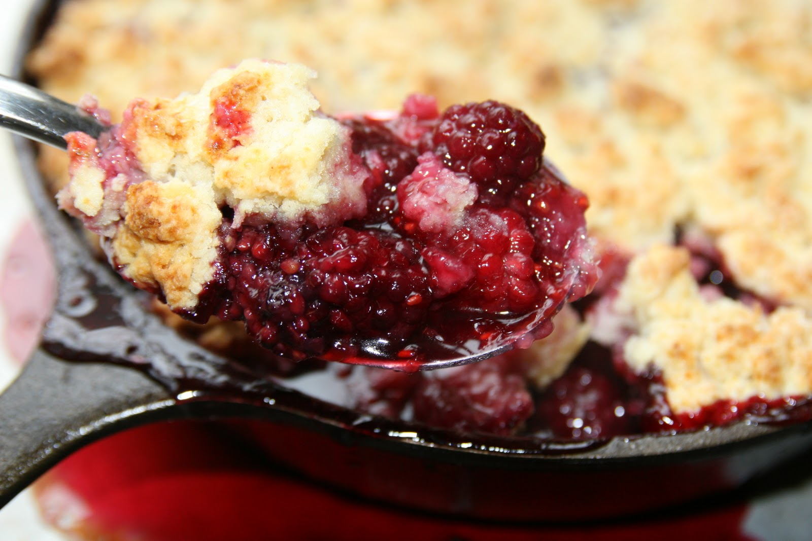 Haystacks & Champagne: Blackberry Farm's Blackberry Cobbler