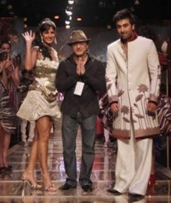 Ranbir Kapoor and Katrina Kaif Ramp