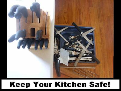 hazard health in kitchen safety