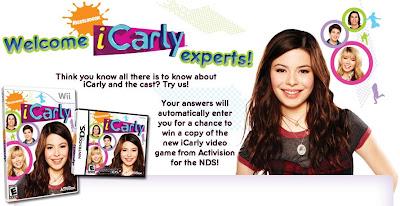 Concurso juego iCarly Nintendo
