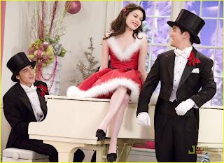 Miranda Cosgrove en el especial de Navidad de Big Time Rush