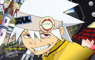 The character Soul from Soul Eater