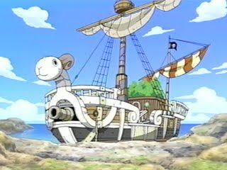 The Going Merry (or Merry Go) from One Piece