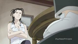 The Elrics' teacher, Izumi