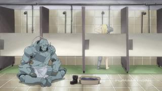 A shower scene? In MY Fullmetal?