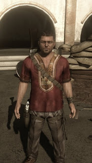 Your target in Far Cry 2 is 'The Jackal,' the arms dealer who sold weapons to both sides in the game's brutal conflict.