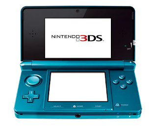 Nintendo's new 3DS handheld, which features 3-D play without glasses