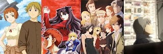 Last Exile, Fate/Stay Night, Baccano, and Pale Cocoon
