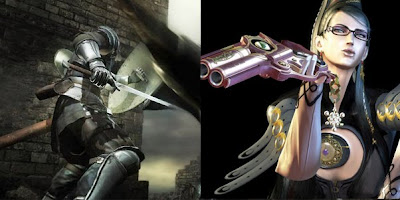 Elliot's choices: Demon's Souls and Bayonetta