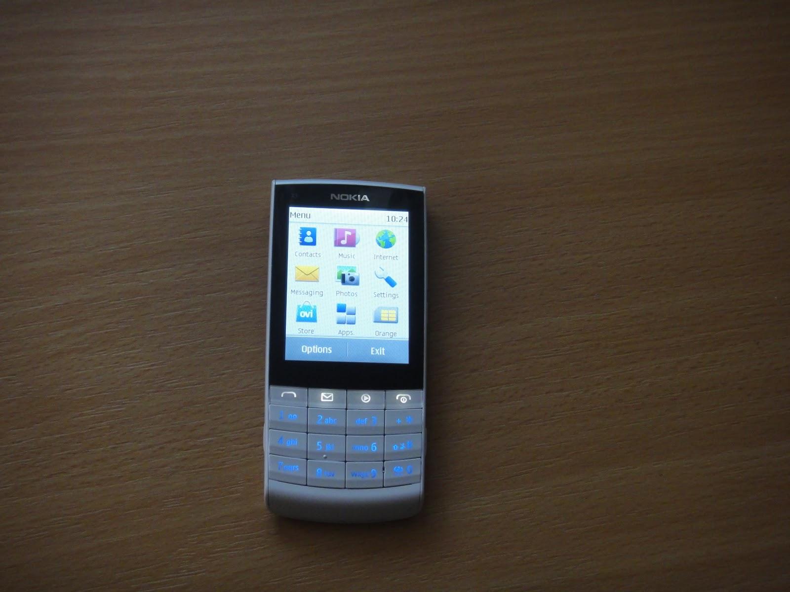 Celular Desbloqueado Nokia X3 02 Branco c Câmera 5MP