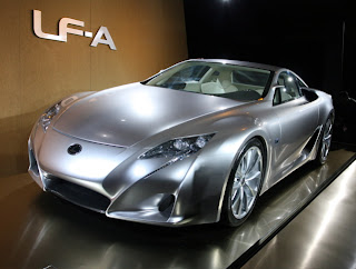 luxury Exotic Lexus car generation