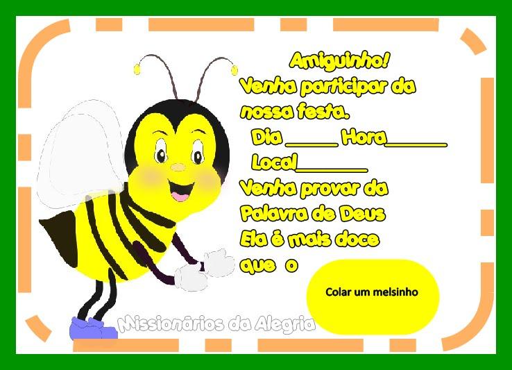 Festa : A Palavra de Deus é doce como mel .