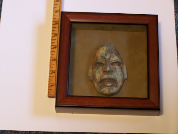 Jadeite Olmec Mask
