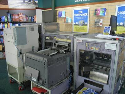 Máquina de hacer libros de forma express