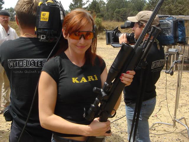girls with guns. girls with guns