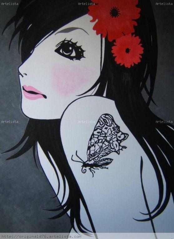 tattoo de mariposas. tattoo mariposas.
