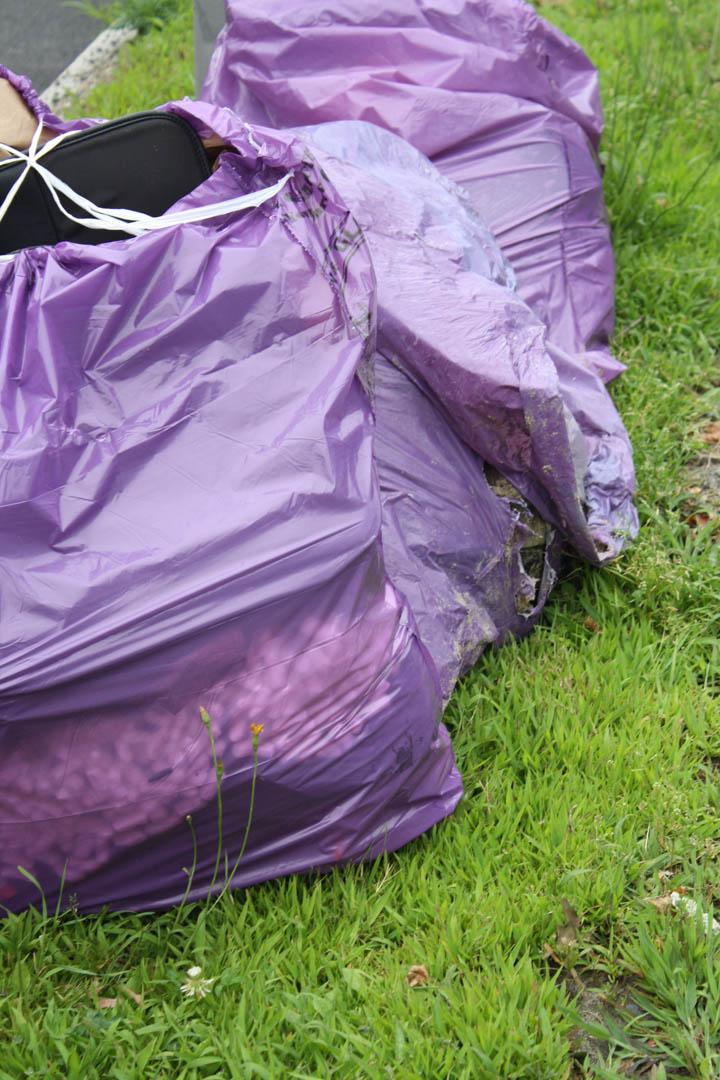 Trash Bag Open Trash Bags