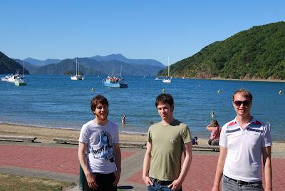 Dan, Me, andn Paul in Picton