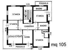 Piantine case piantine case with piantine case le for Enormi planimetrie