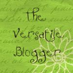 Versatile Blogger Award!