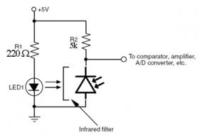 Adraya blog belajar membuat robot sederhana pada sistem robot sensor berperan sebagai indera untuk robot ini kita gunakan sensor cahaya untuk mengikuti garis sensor cahaya ini terdiri dari lampu ccuart Image collections