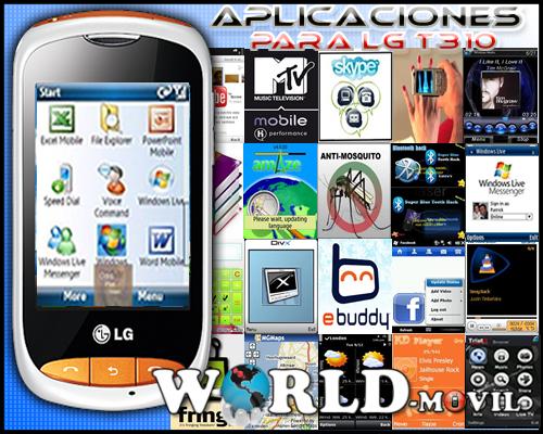 Descargar Gratis Aplicaciones para LG T310 [RS][MF]