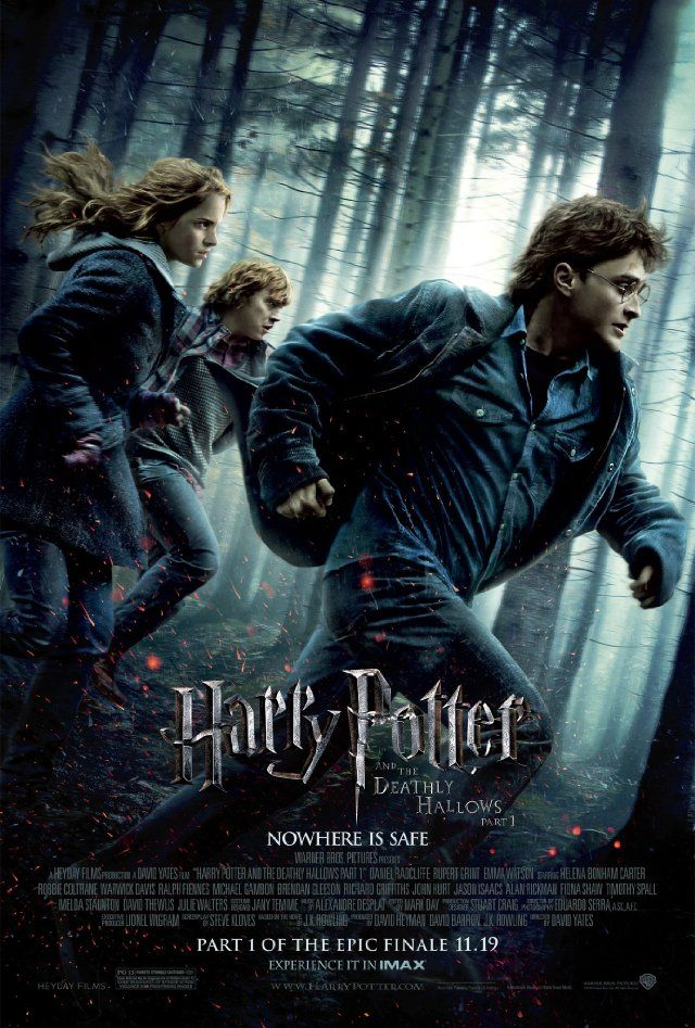 harry potter and the deathly hallows part 1 movie mistakes. I stopped reading the Harry