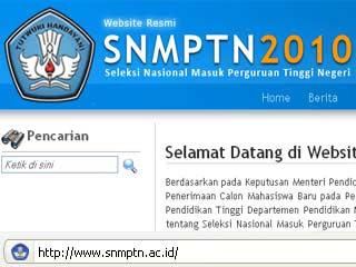 Pengumuman Hasil Ujian SNMPTN 2010