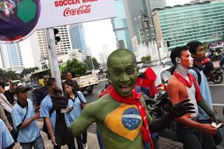 Semangat Menyambut Piala Dunia 2010