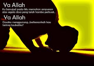 Bertobatlah, maka Allah akan Mengampuni segala dosamu