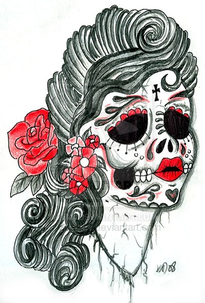 Sugar Skulls and La Calavera Catrina