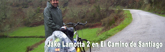 Jake Lamotta 2 en El Camino de Santiago