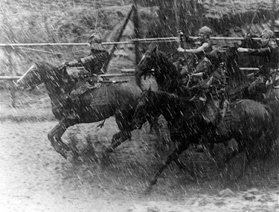 Seven Samurai horses