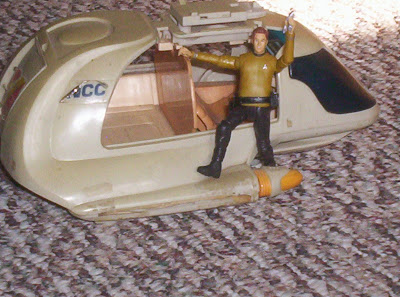 Damaged shuttlecraft